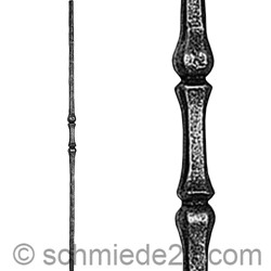 Picture of wrought iron rod 11040