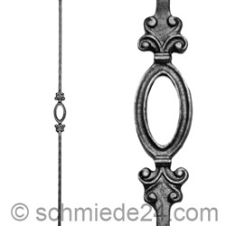 Picture of wrought iron rod 11420