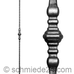 Picture of wrought iron rod 11430