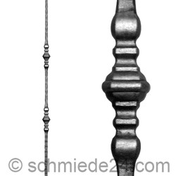 Picture of wrought iron rod 11440