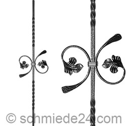 Picture of baroque ornamental rod 13040