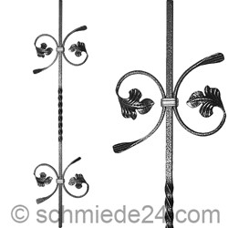 Picture of baroque ornamental rod 13050