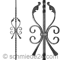 Picture of baroque ornamental rod 13080