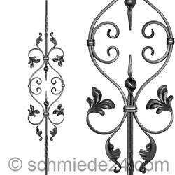 Picture of baroque ornamental rod 13150