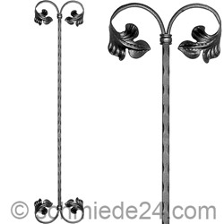 Picture of baroque ornamental rod 13160