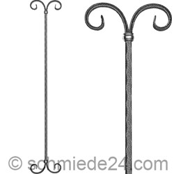 Picture of baroque ornamental rod 13171