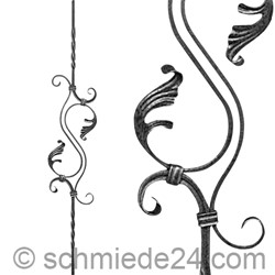 Picture of baroque ornamental rod