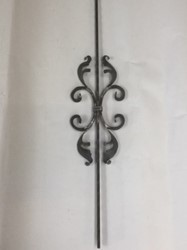 Picture of baroque ornamental rod 13110